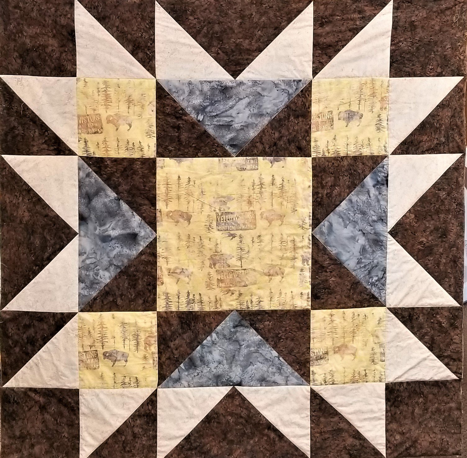 Yellowstone Star Quilt Kit