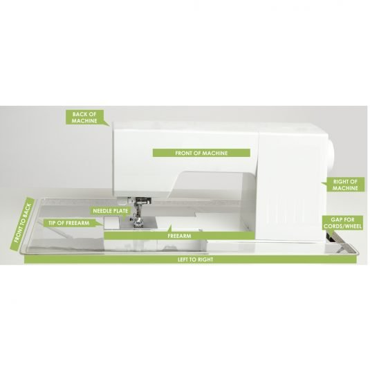 Custom Machine Insert for Arrow Cabinets