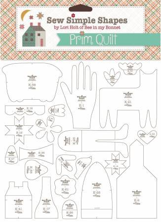 Prim Quilt by Lori Holt  Sew Simple Shapes 62 Templates
