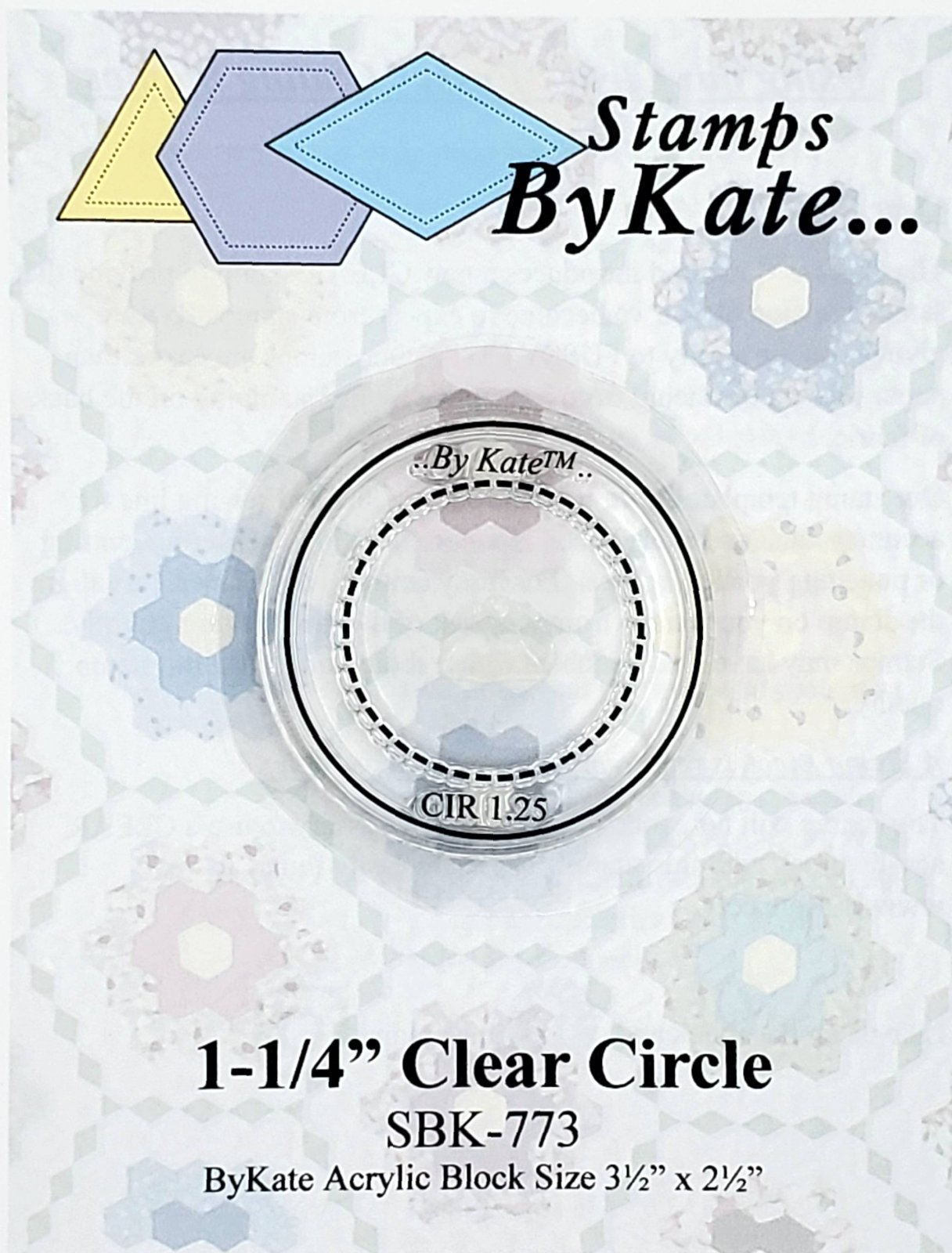 Clear Circle Stamps