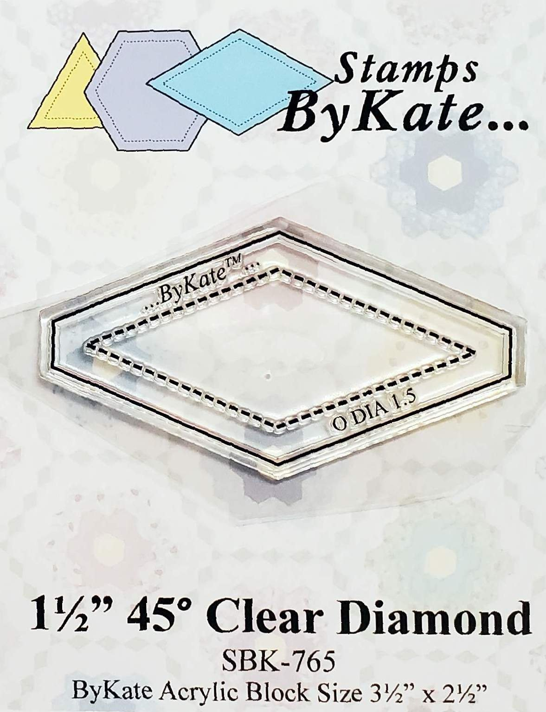 Clear 45 Degree Diamond