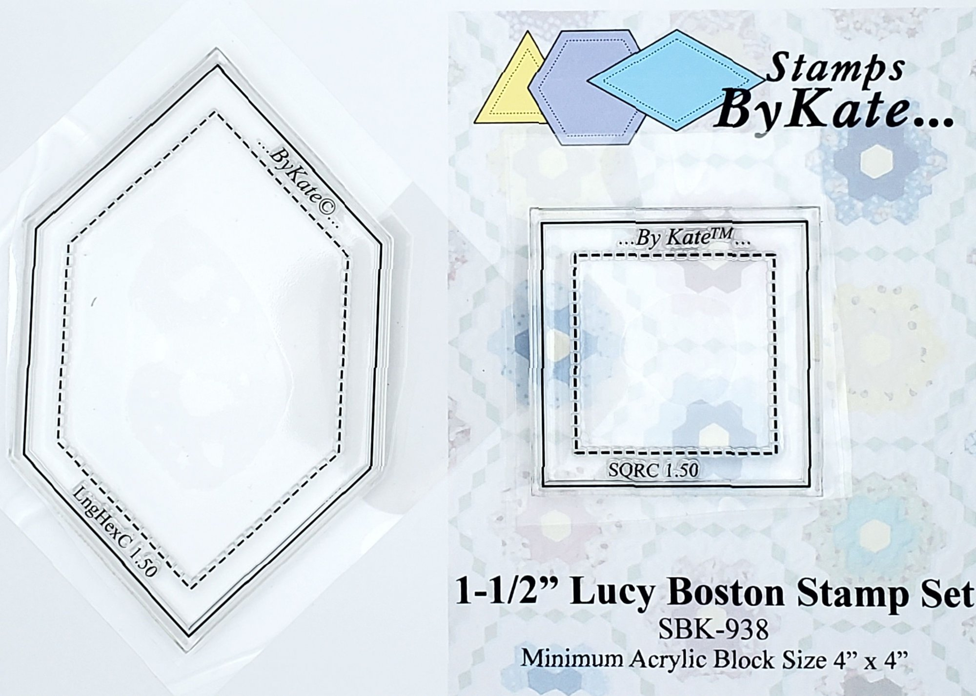Clear Lucy Boston Stamp Sets