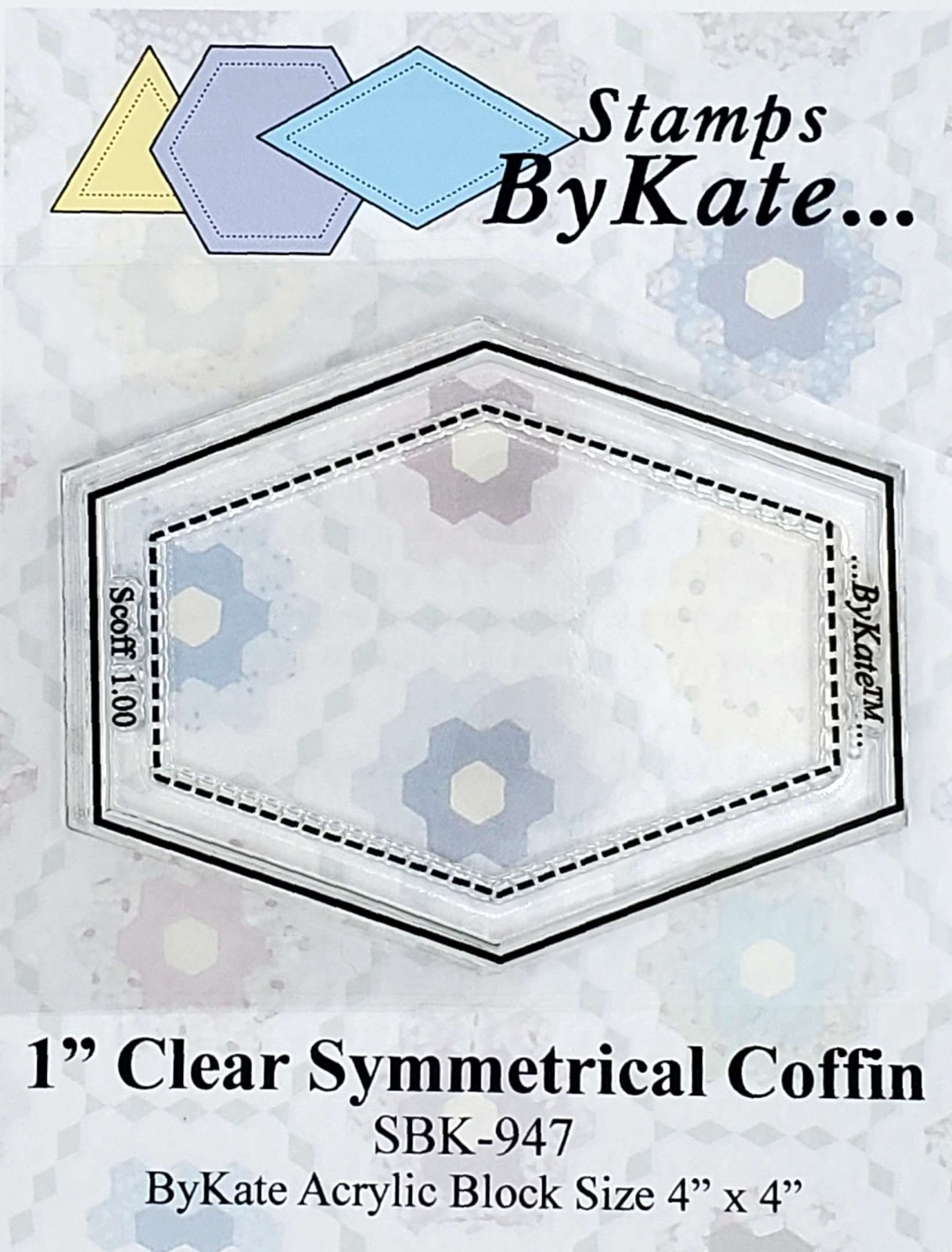 Clear Coffin Stamps