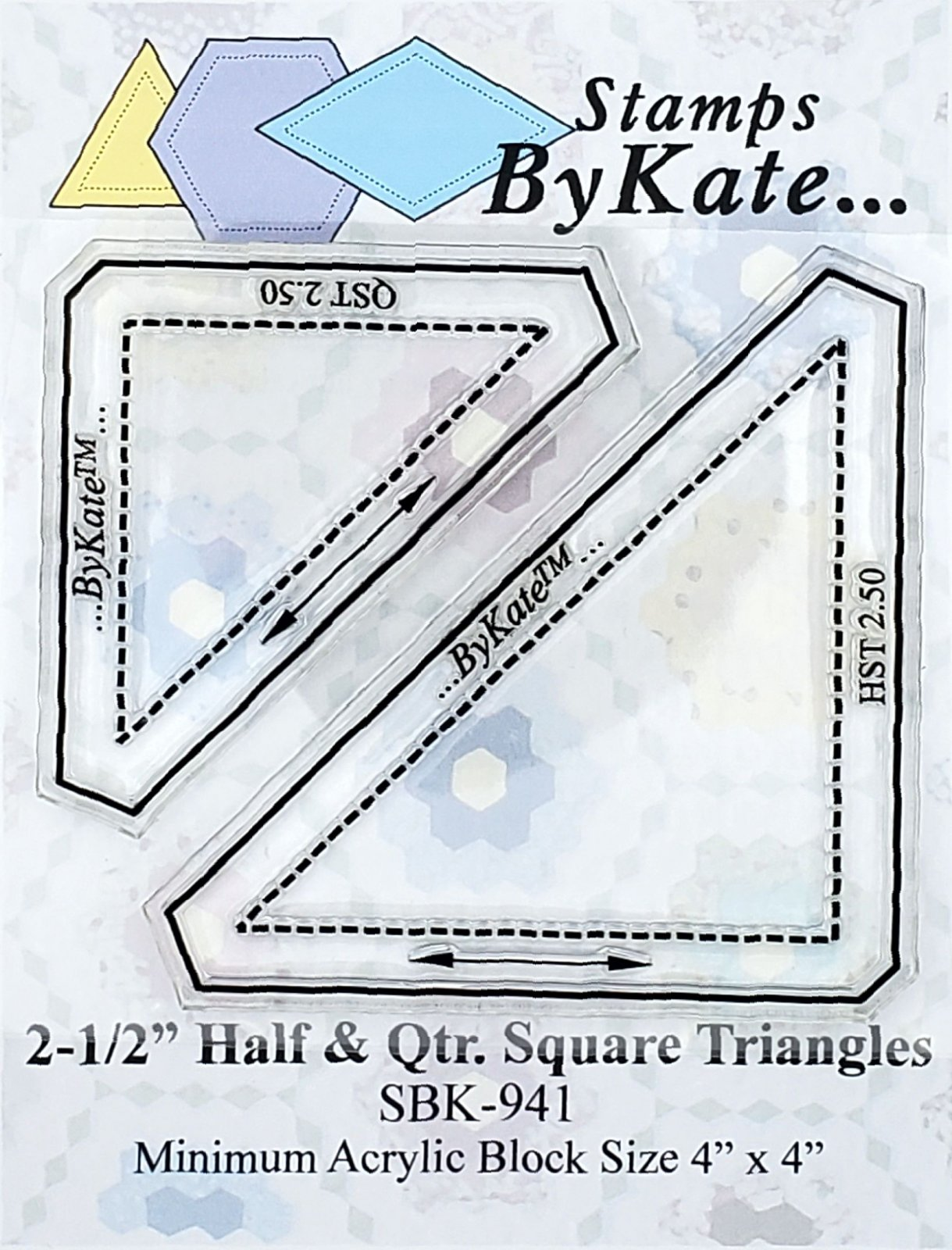 Half & Quarter Square Triangle Sets (QST & HST)