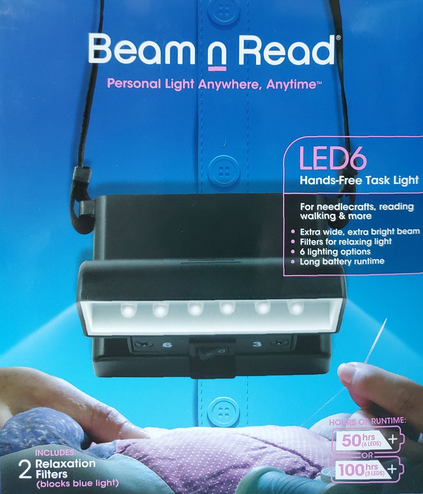 Beam n Read LED Light