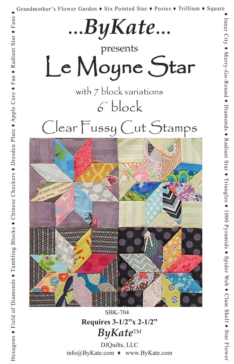 Clear LeMoyne Star Sets