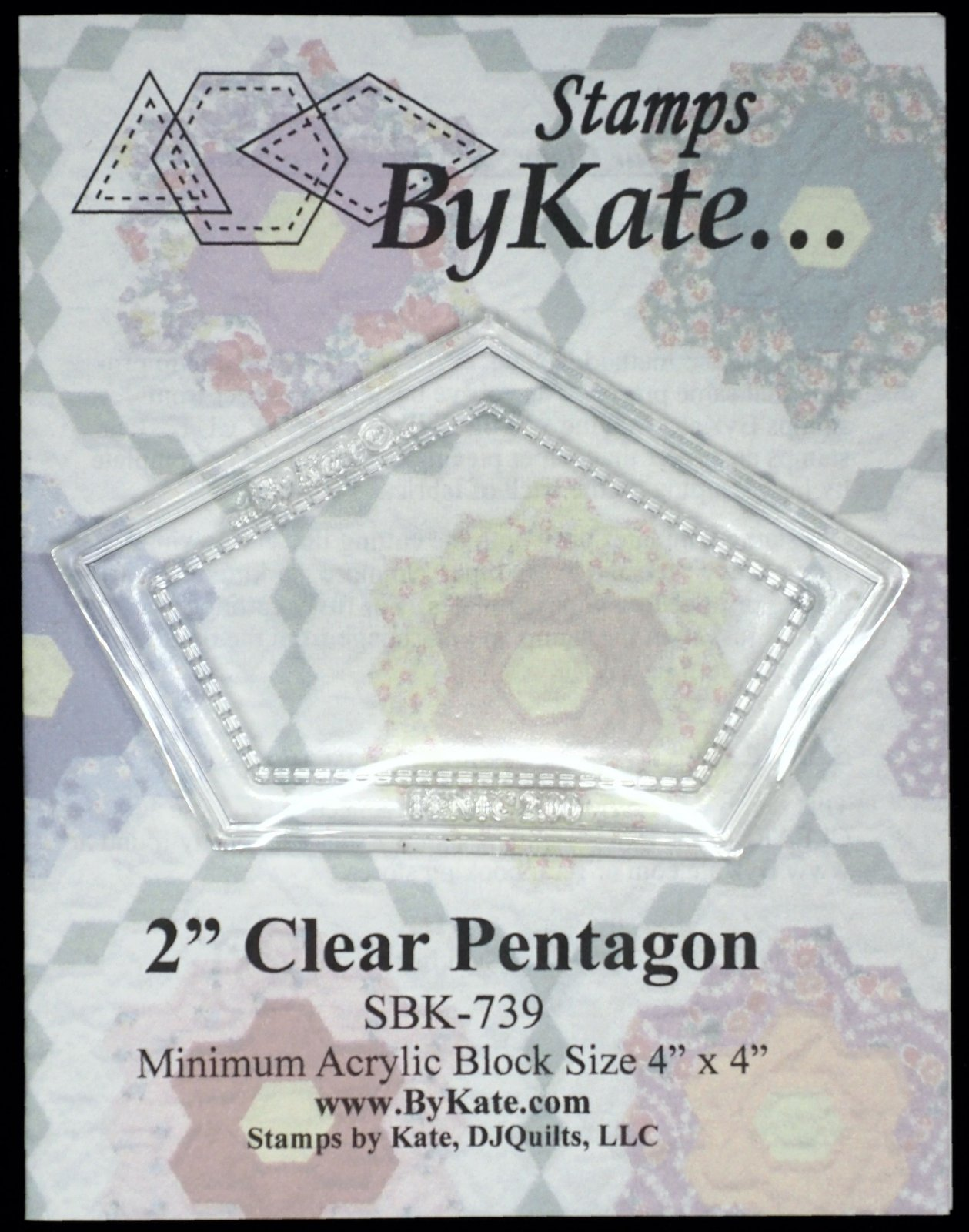 Clear Pentagon Stamps