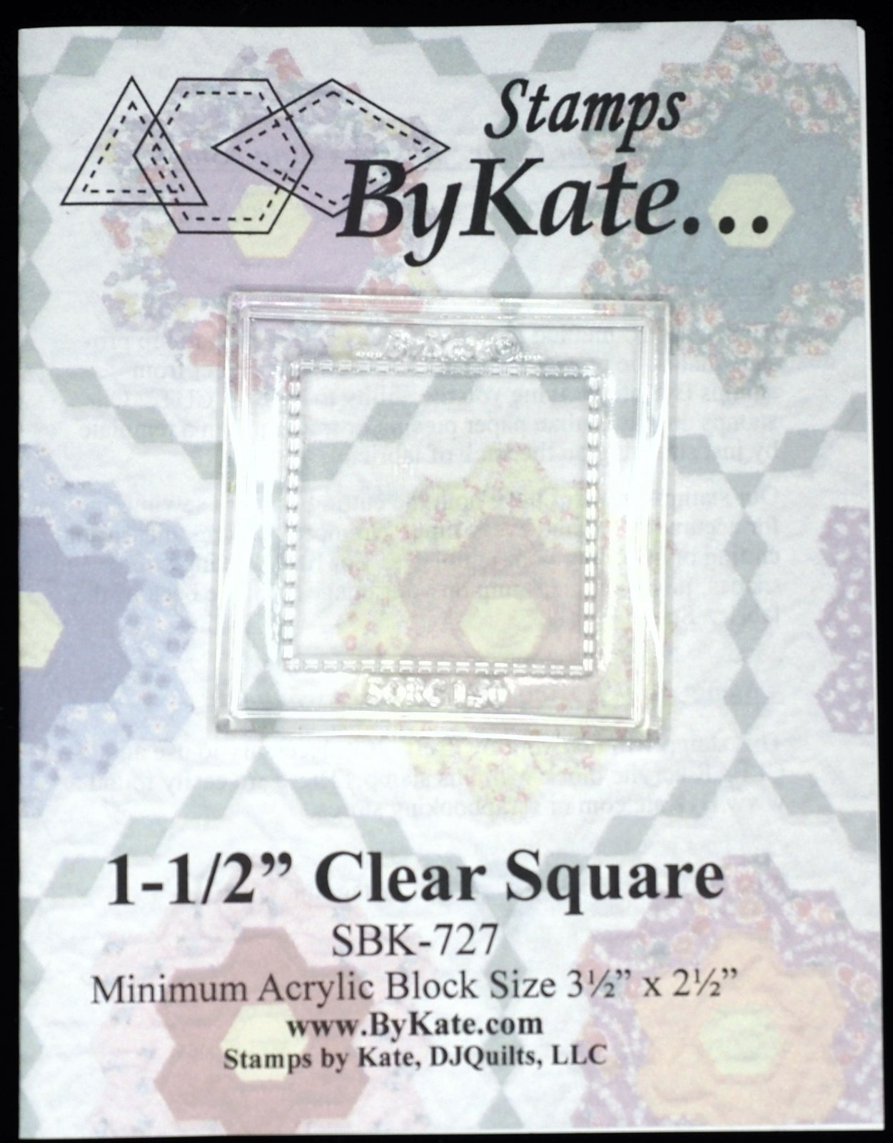 Clear Square Stamps