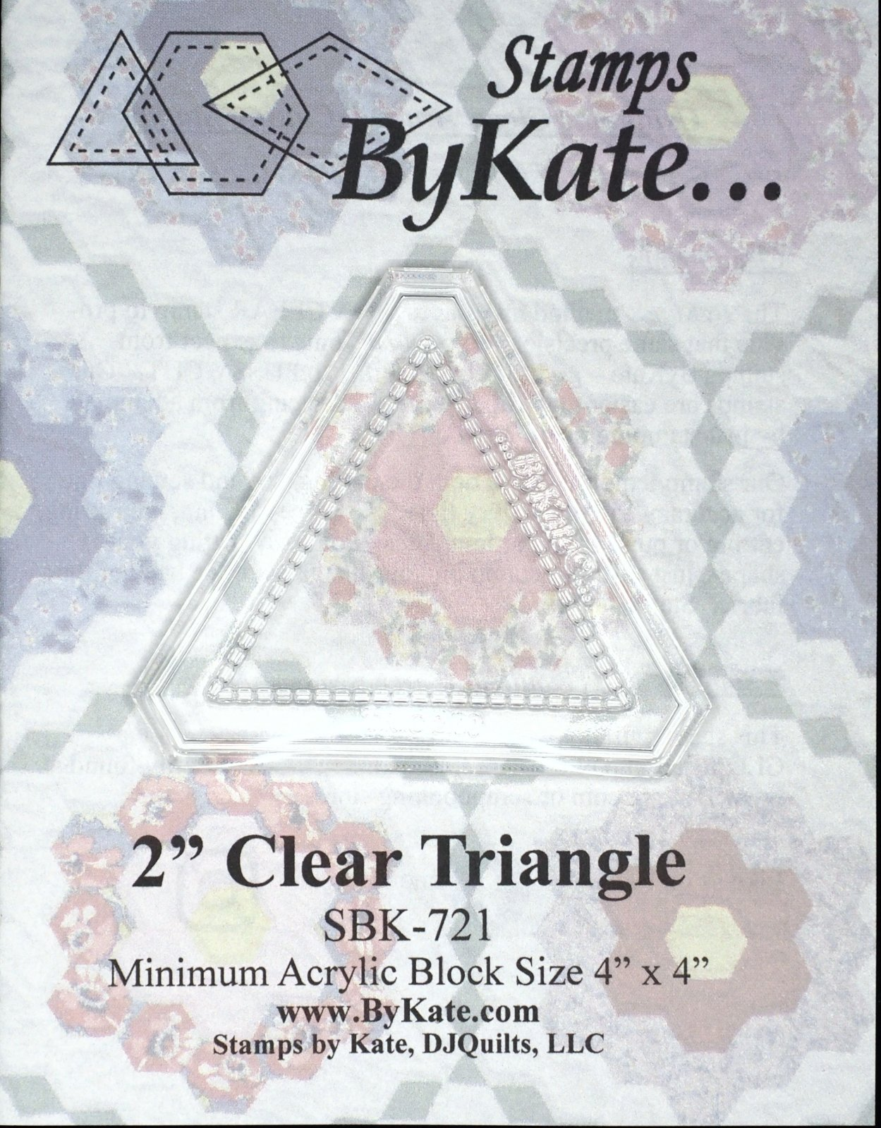 Clear Triangle Stamps