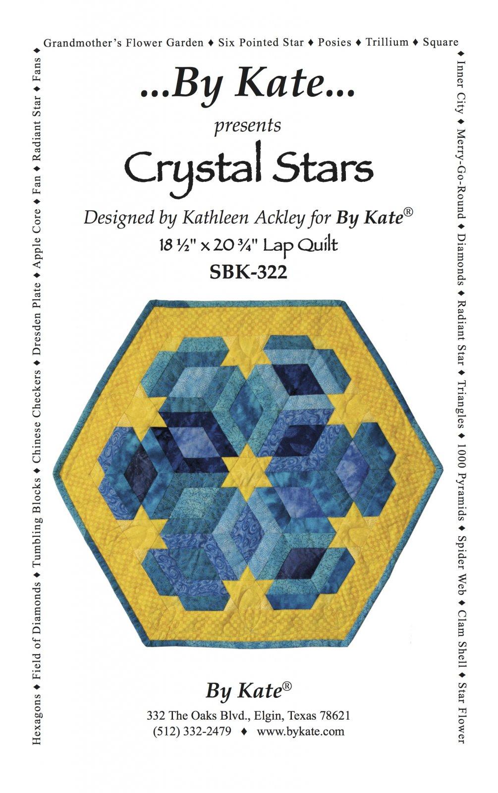 Crystal Stars Wall Hanging