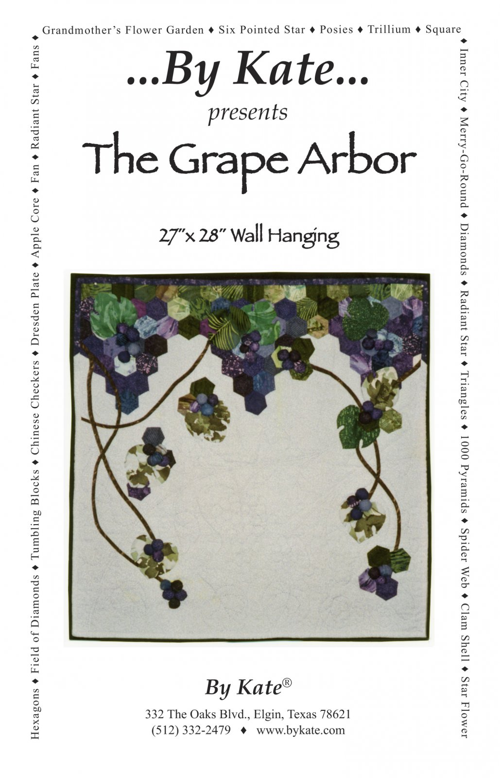 The Grape Arbor Wall Hanging