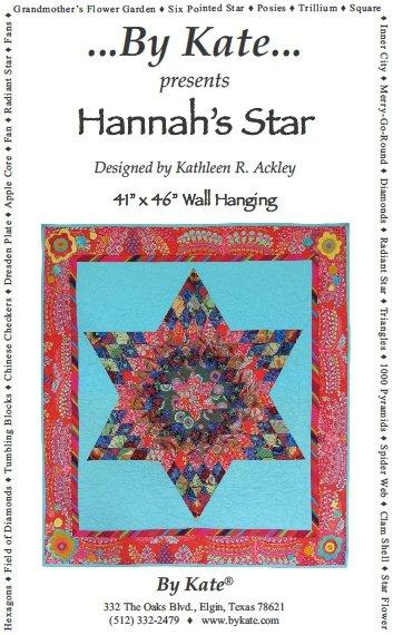 Hannah's Star Wall Hanging