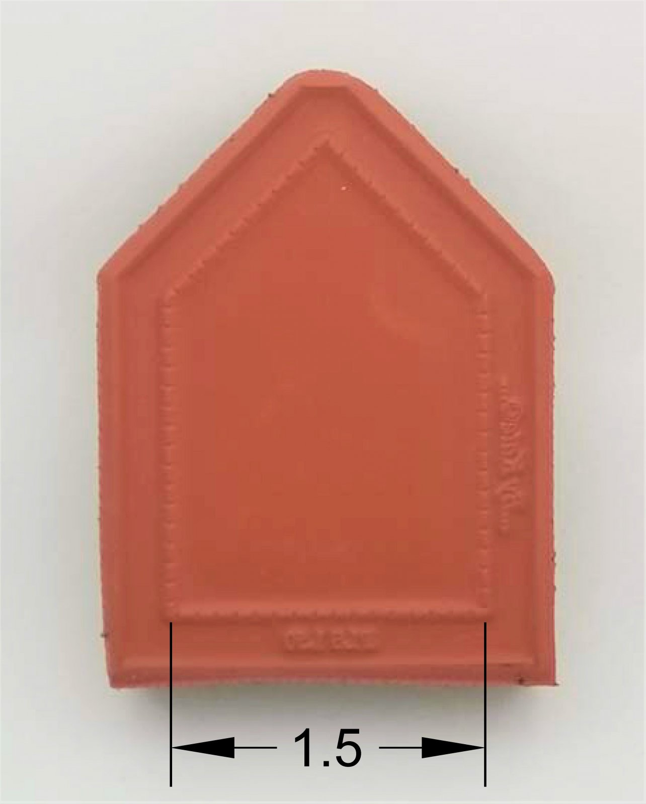 Plus Stamp  - 1-1/2 inch long