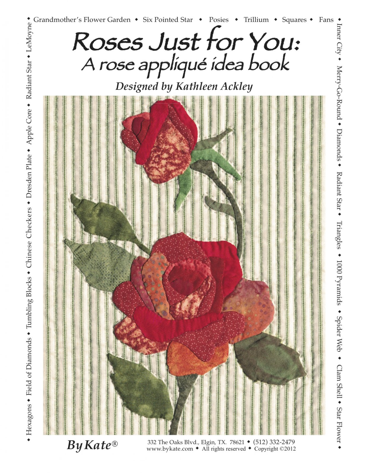 Roses Just For You Applique Inspirations