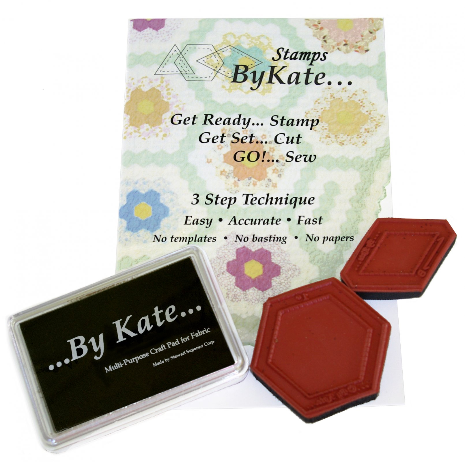 Grandmother's Flower Garden Stamp Set