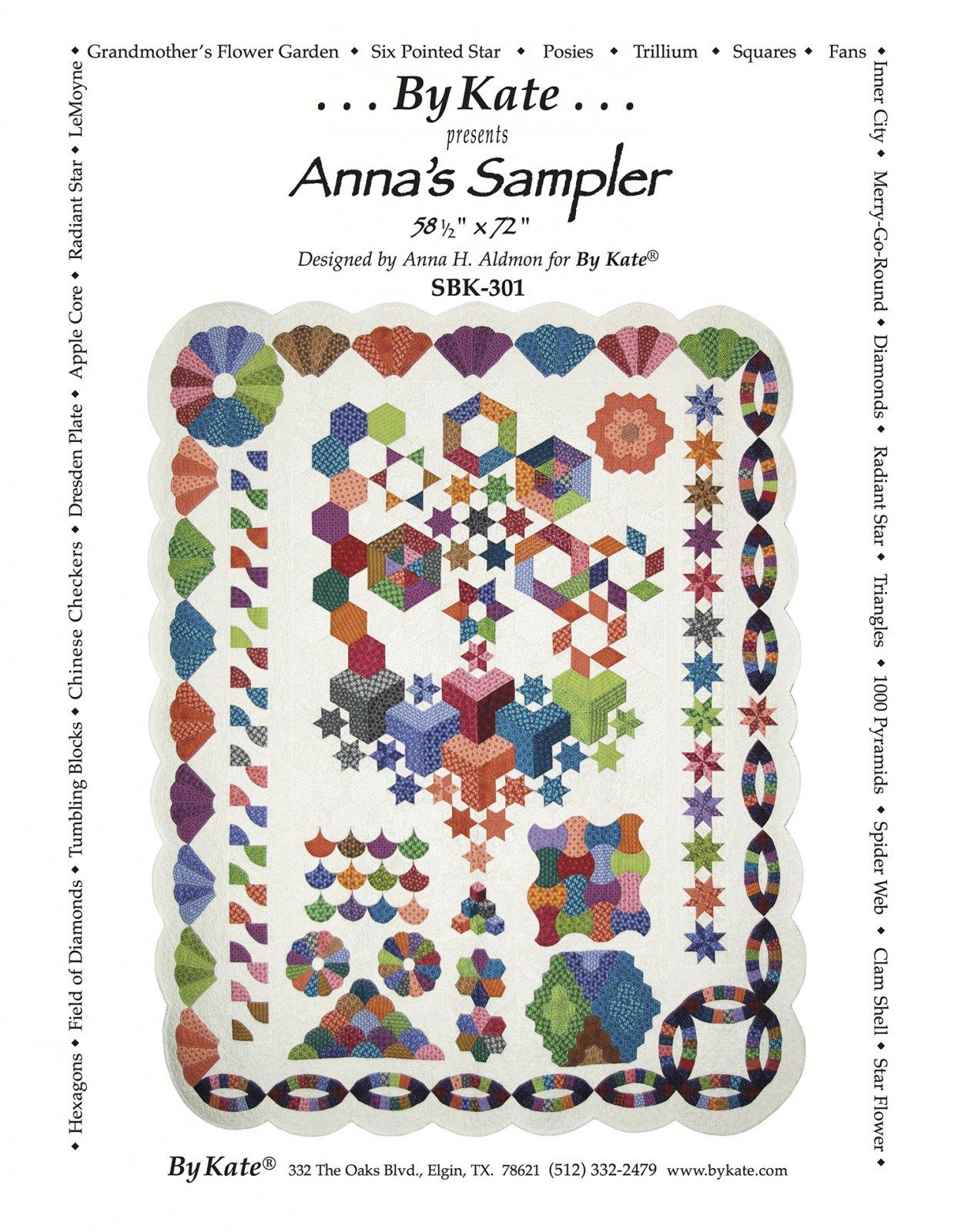 Anna's Sampler Quilt Pattern