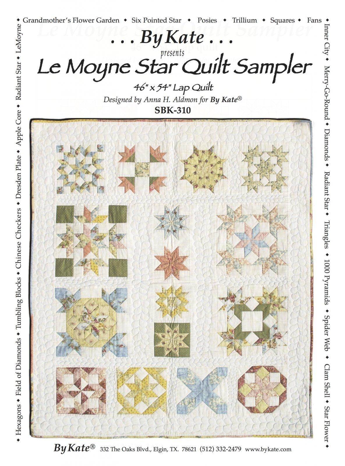 LeMoyne Star Quilt Sampler