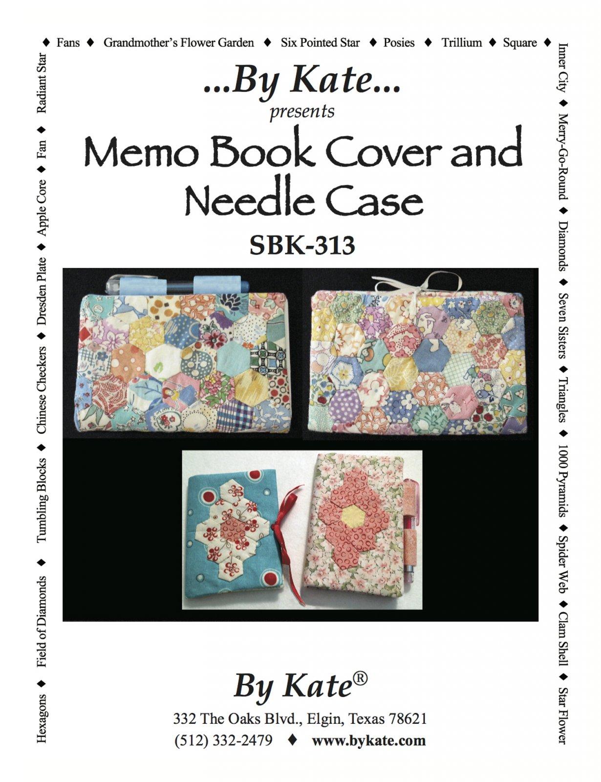 Memo Book Cover & Needle Case