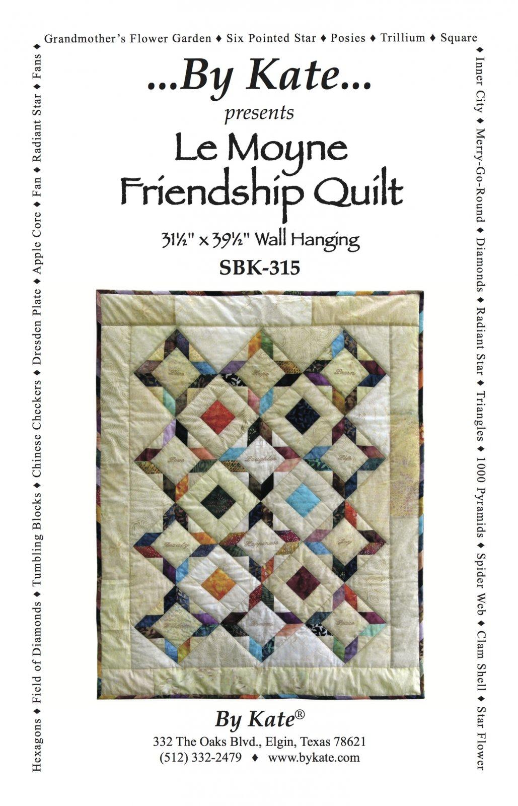 LeMoyne Friendship Quilt