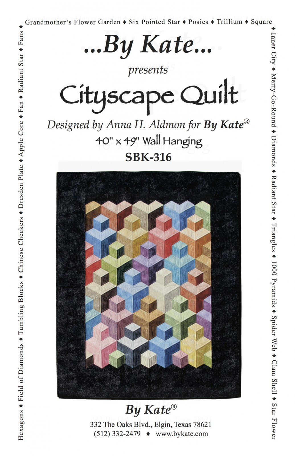 Cityscape Quilt Wall Hanging