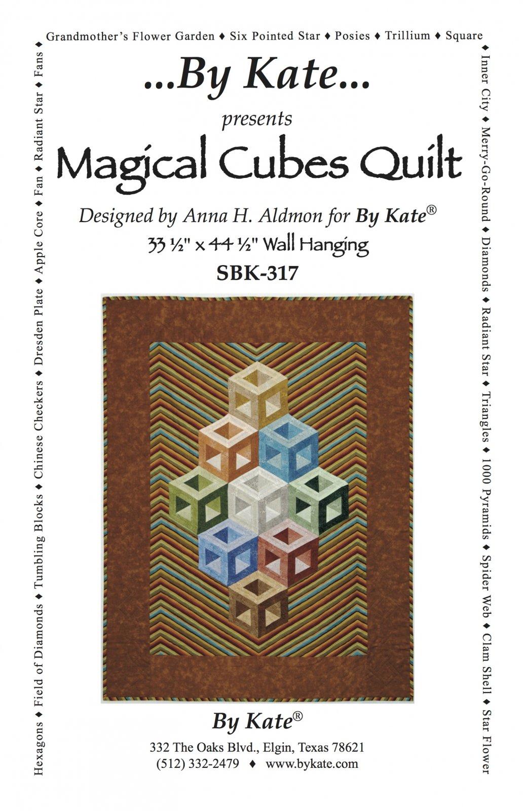 Magical Cubes Quilt Pattern