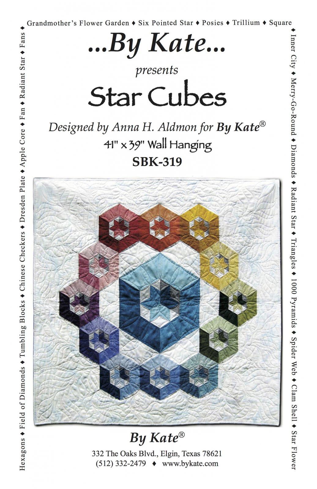 Star Cubes Quilt Pattern