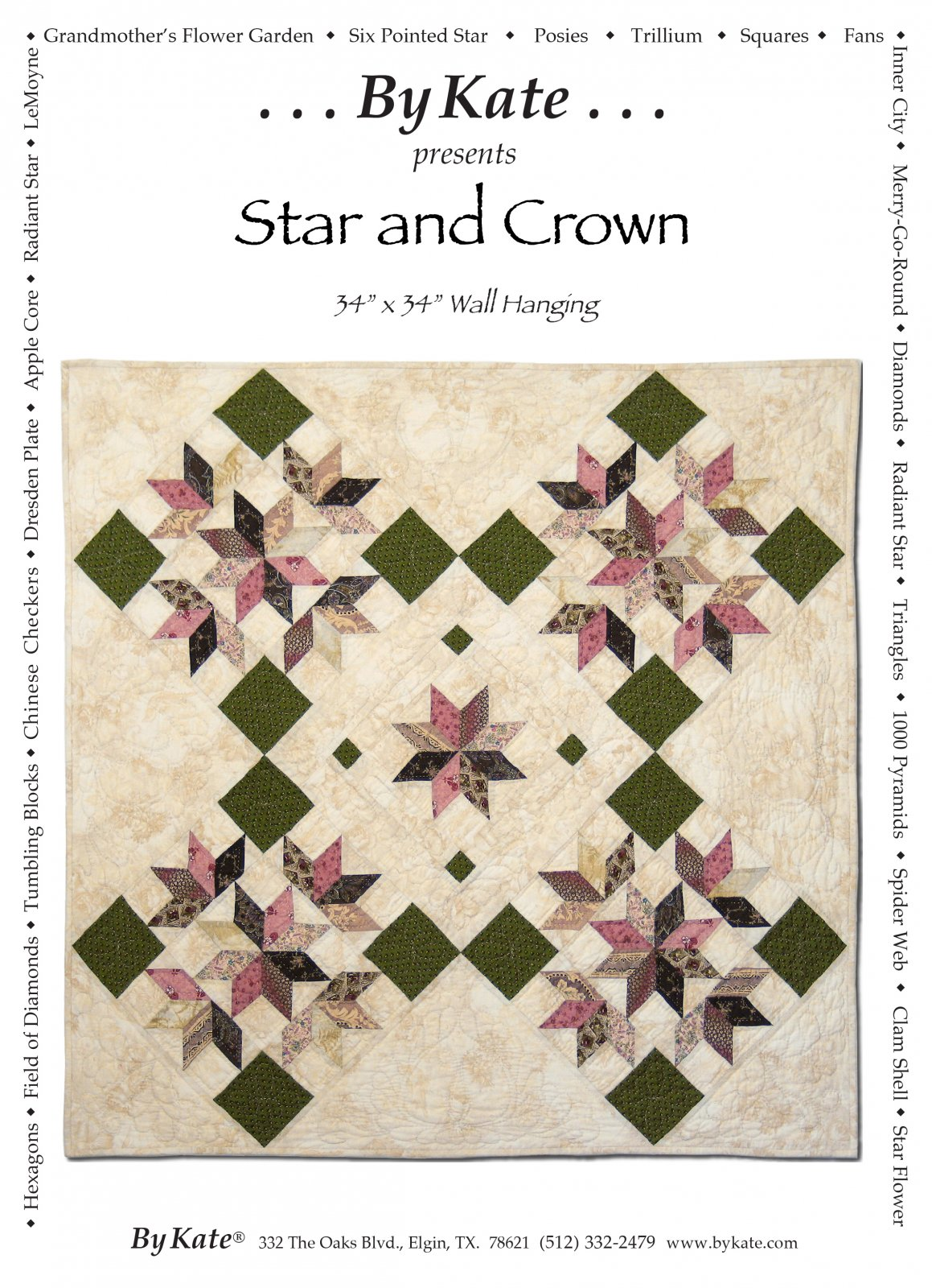 Star and Crown Wall Hanging