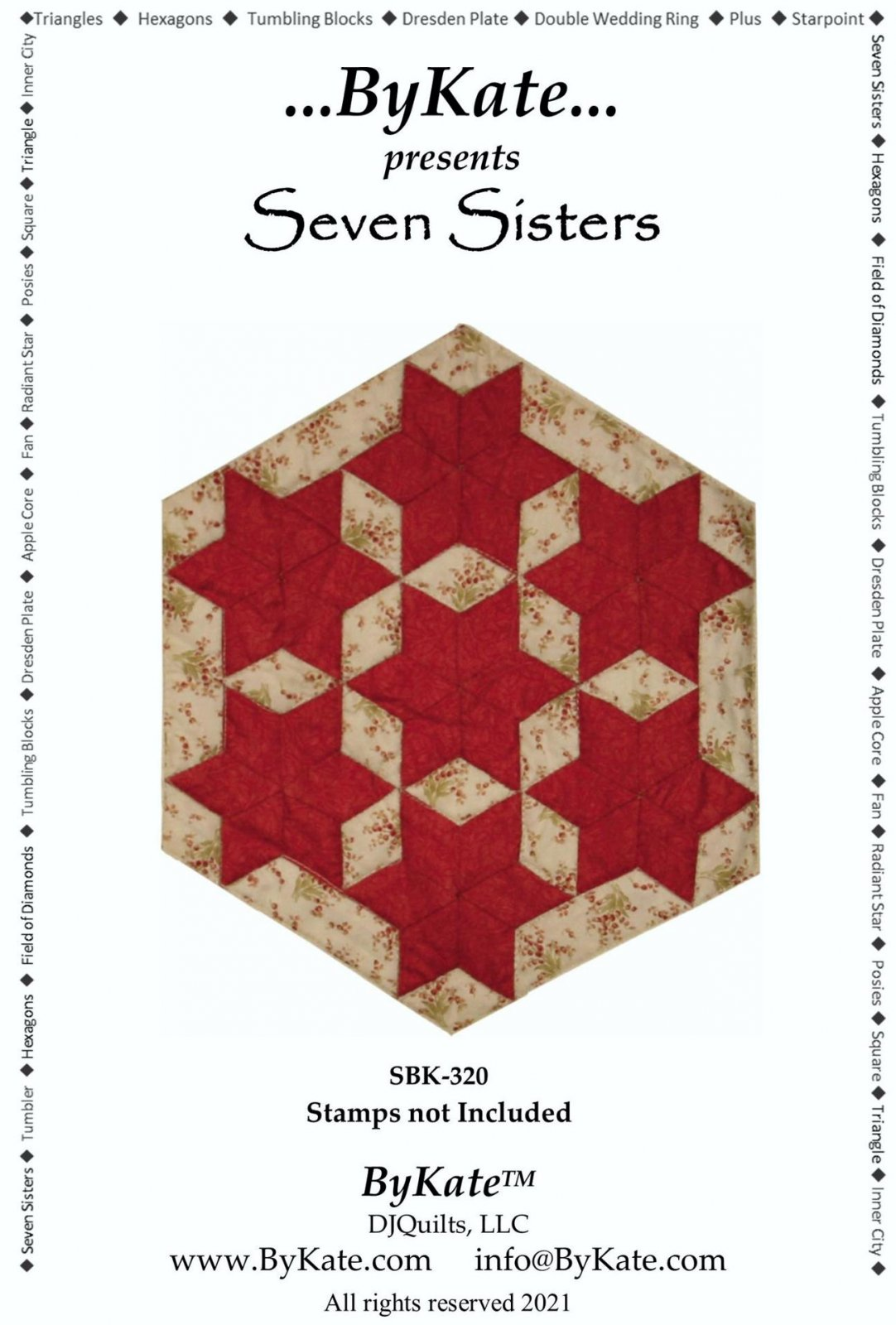 Seven Sisters Block Pattern