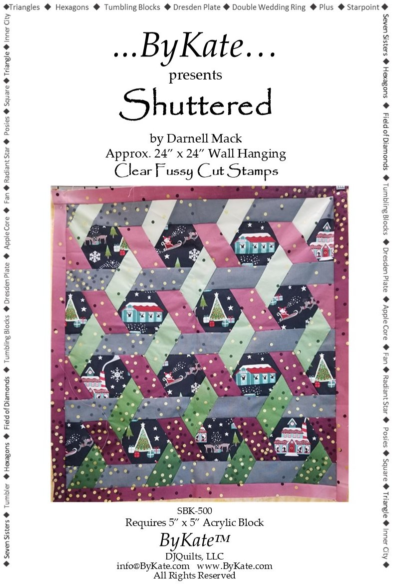 Clear Shuttered Stamp Set & Pattern