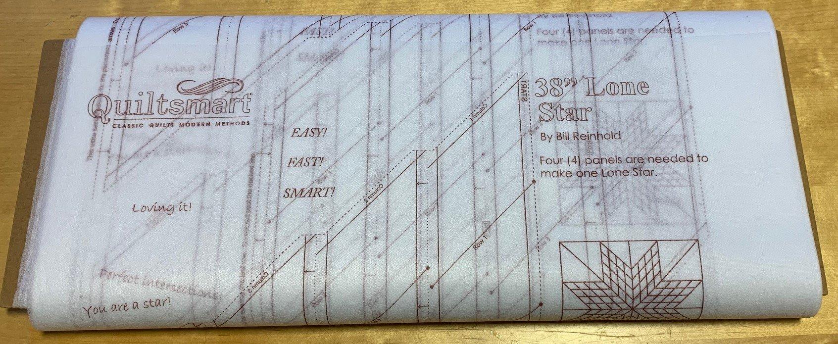 Lone Star 38 Interfacing 25-panel Bolt