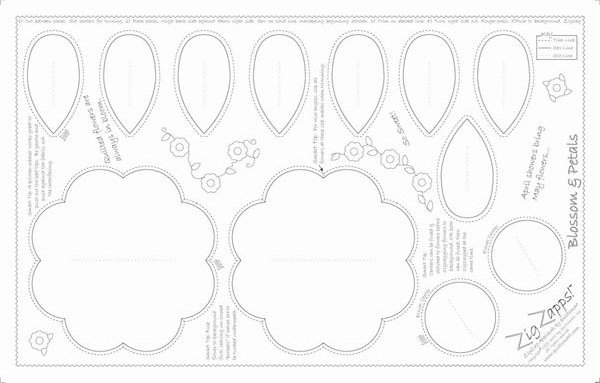 ZigZapps!  Blossom & Petals( 6-pack)