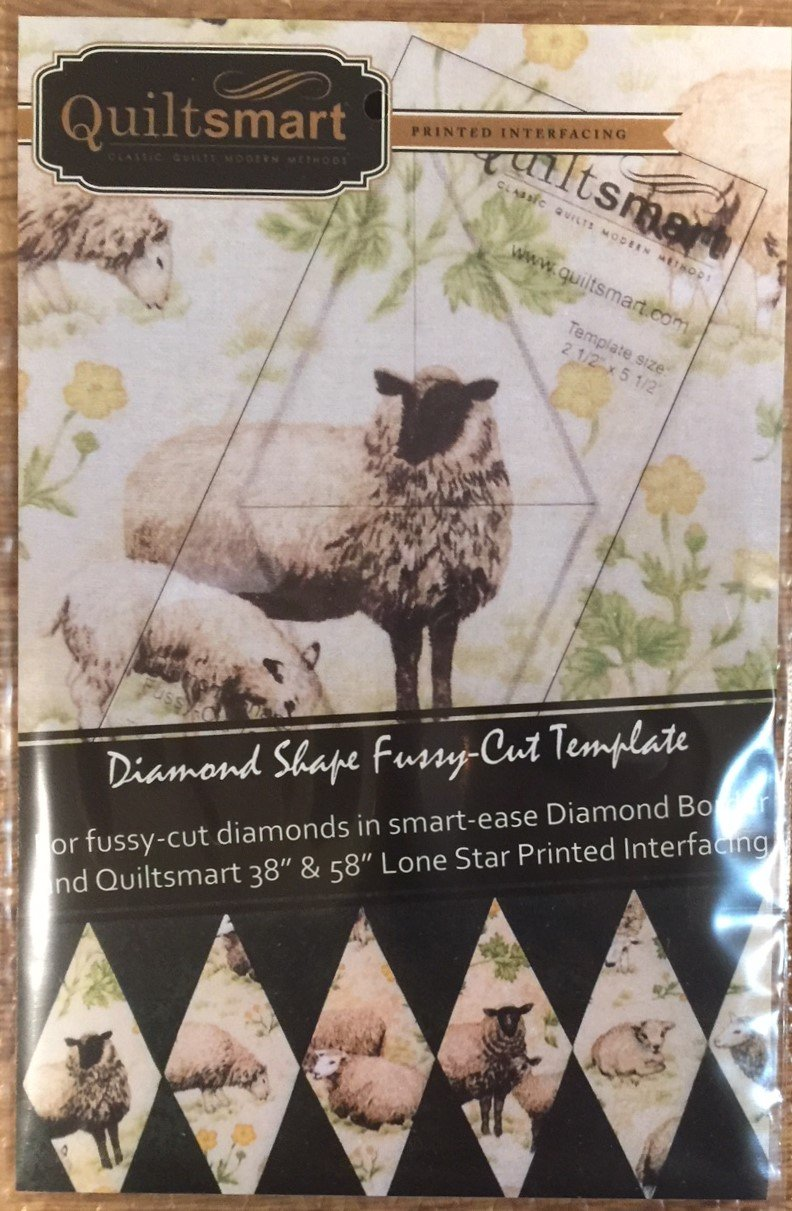 Diamond Fussy-Cut Template