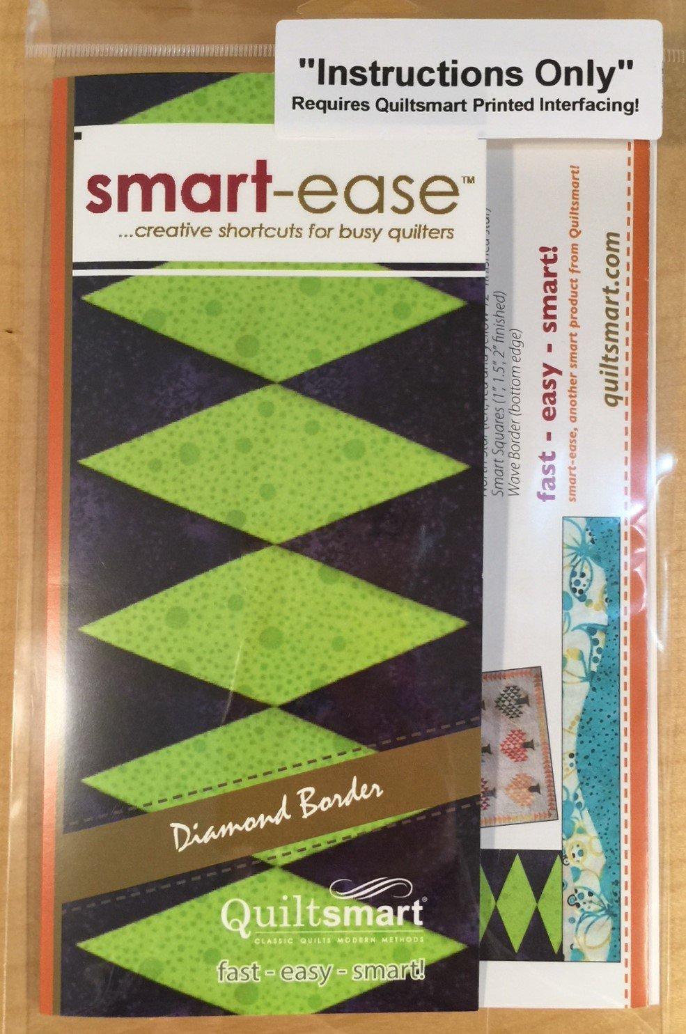 smart-ease Diamond Border - Instructions Only