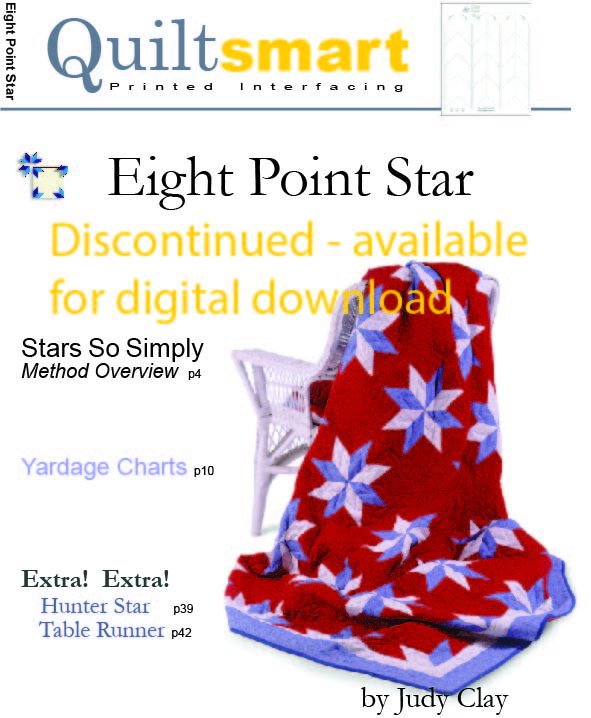 Discontinued Eight Point Star Inside Book Pages Digital Download Only