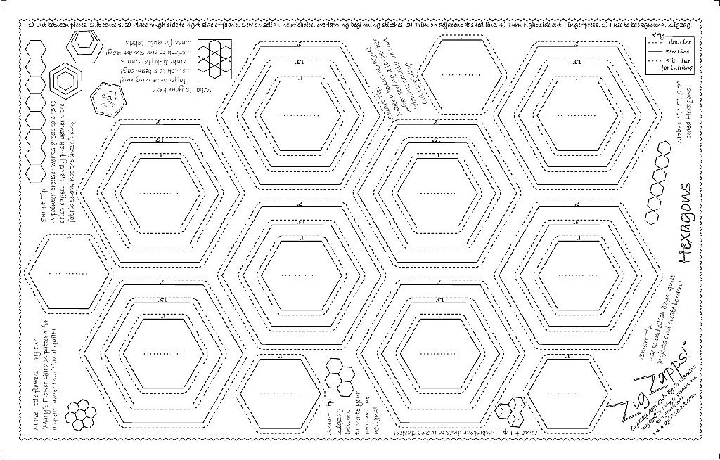 ZigZapps!  Hexagons 5-pack