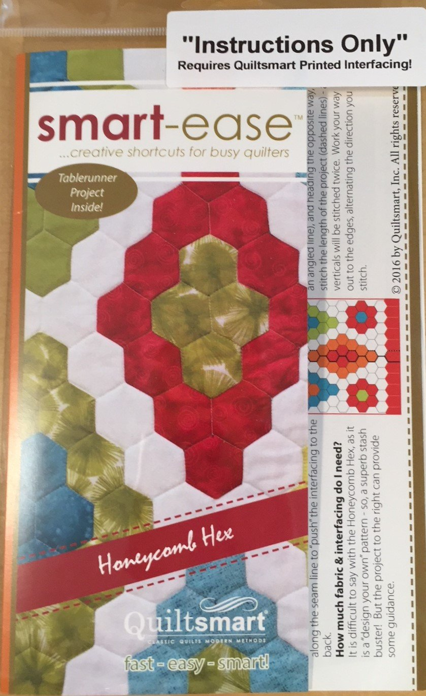 smart-ease Honeycomb Hex - Instructions Only
