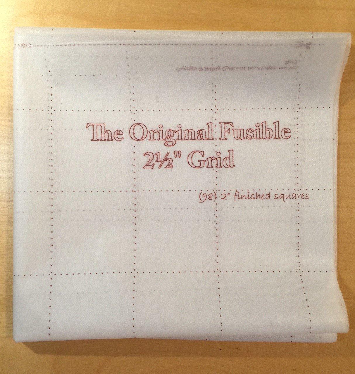 The Original Fusible 2.5 Grid Panel