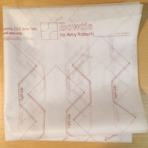 Bow Tie  interfacing panel