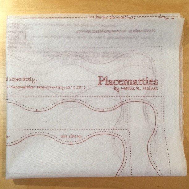 Placematties Interfacing Panel
