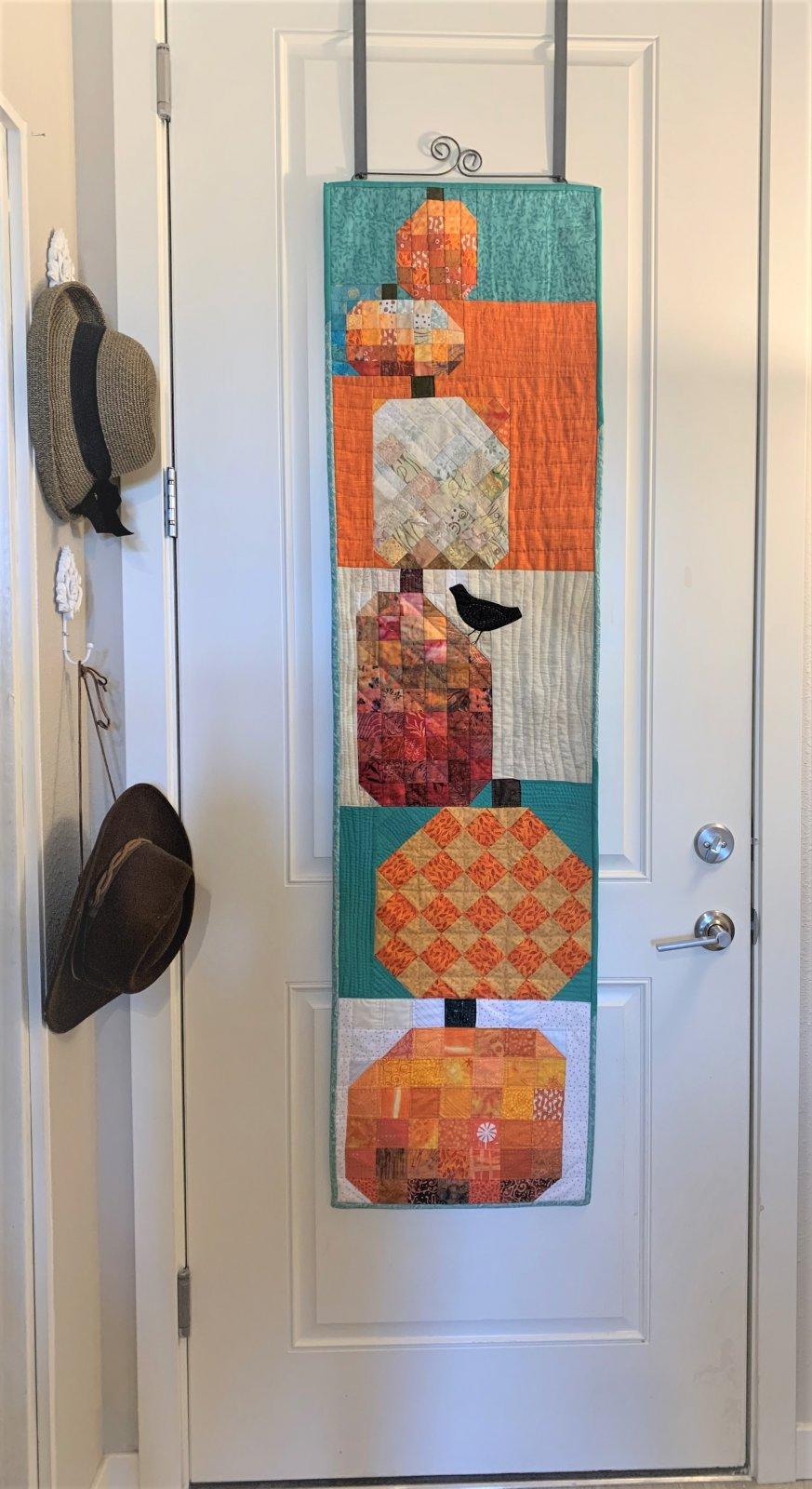 Pumpkin Stack Door Banner Instructions Only for Digital Download -
