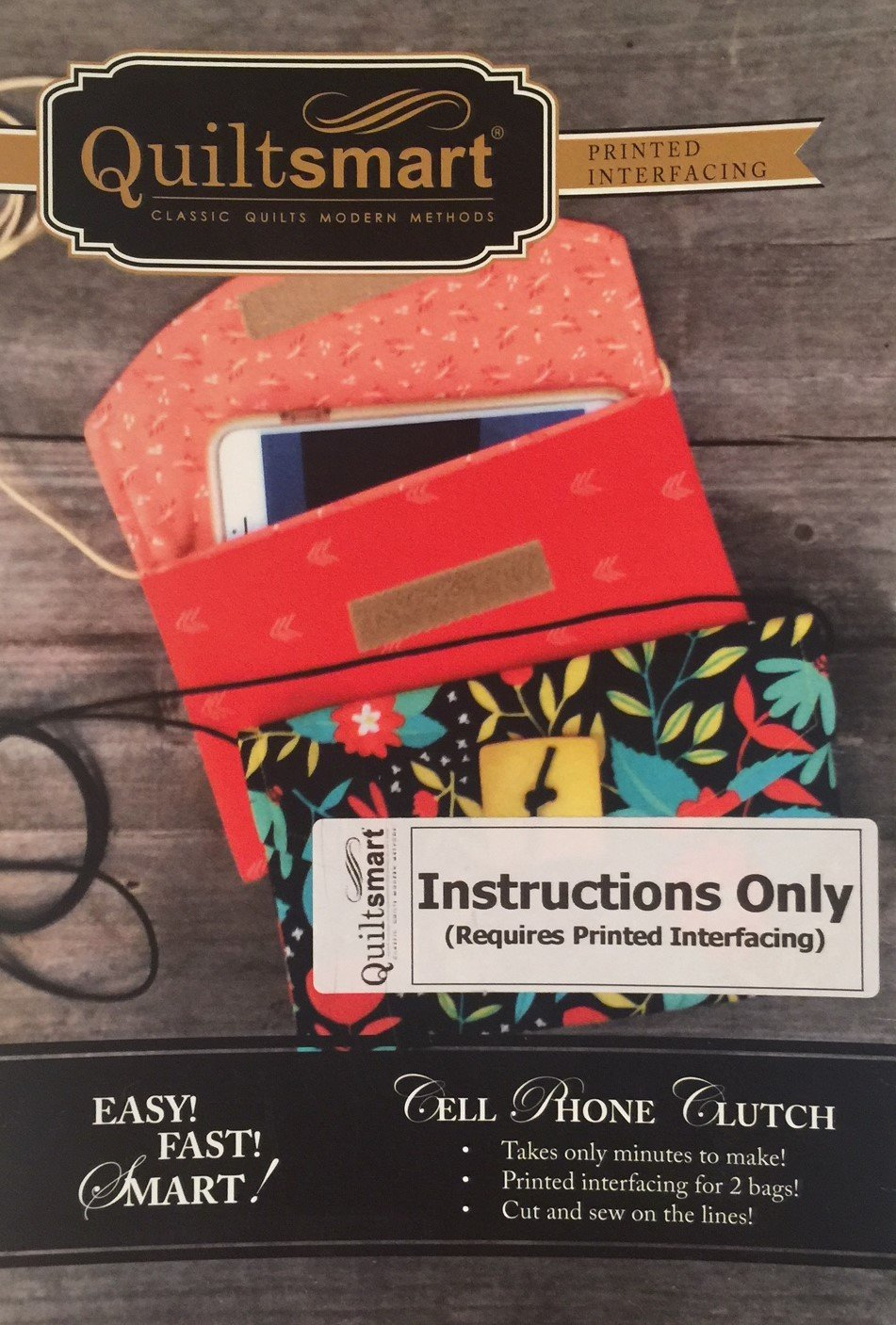 Cell Phone Clutch - Instructions Only
