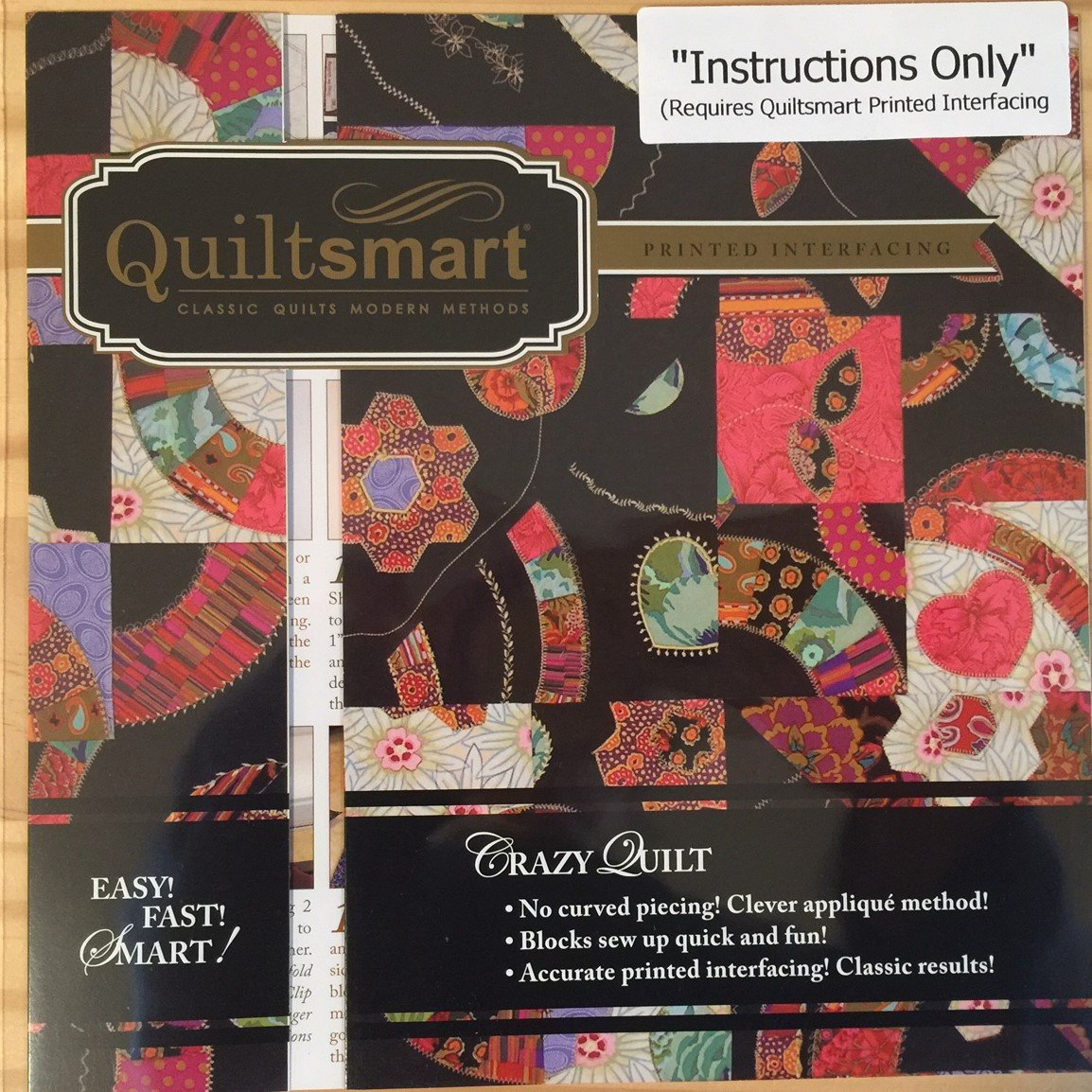 Crazy Quilt - Instructions Only