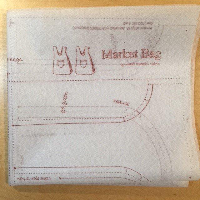 Market Bag Interfacing panel