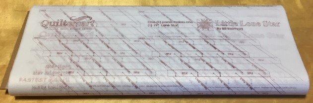 Little Lone Star Printed Interfacing 25-panel Bolt