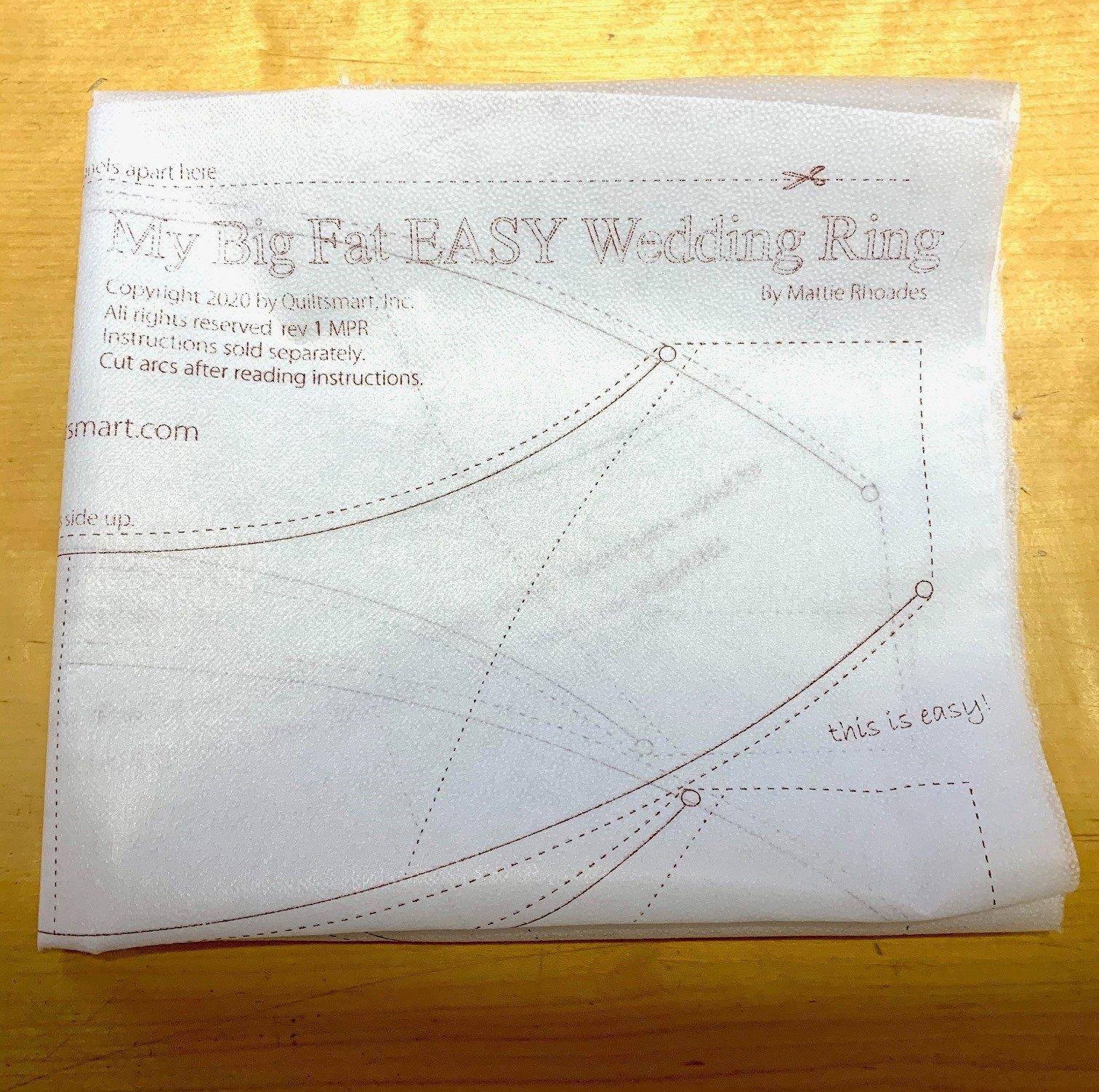 My Big Fat Wedding Ring Panel