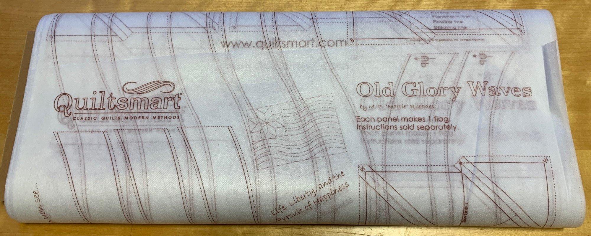 Old Glory Waves Interfacing 25-panel Bolt