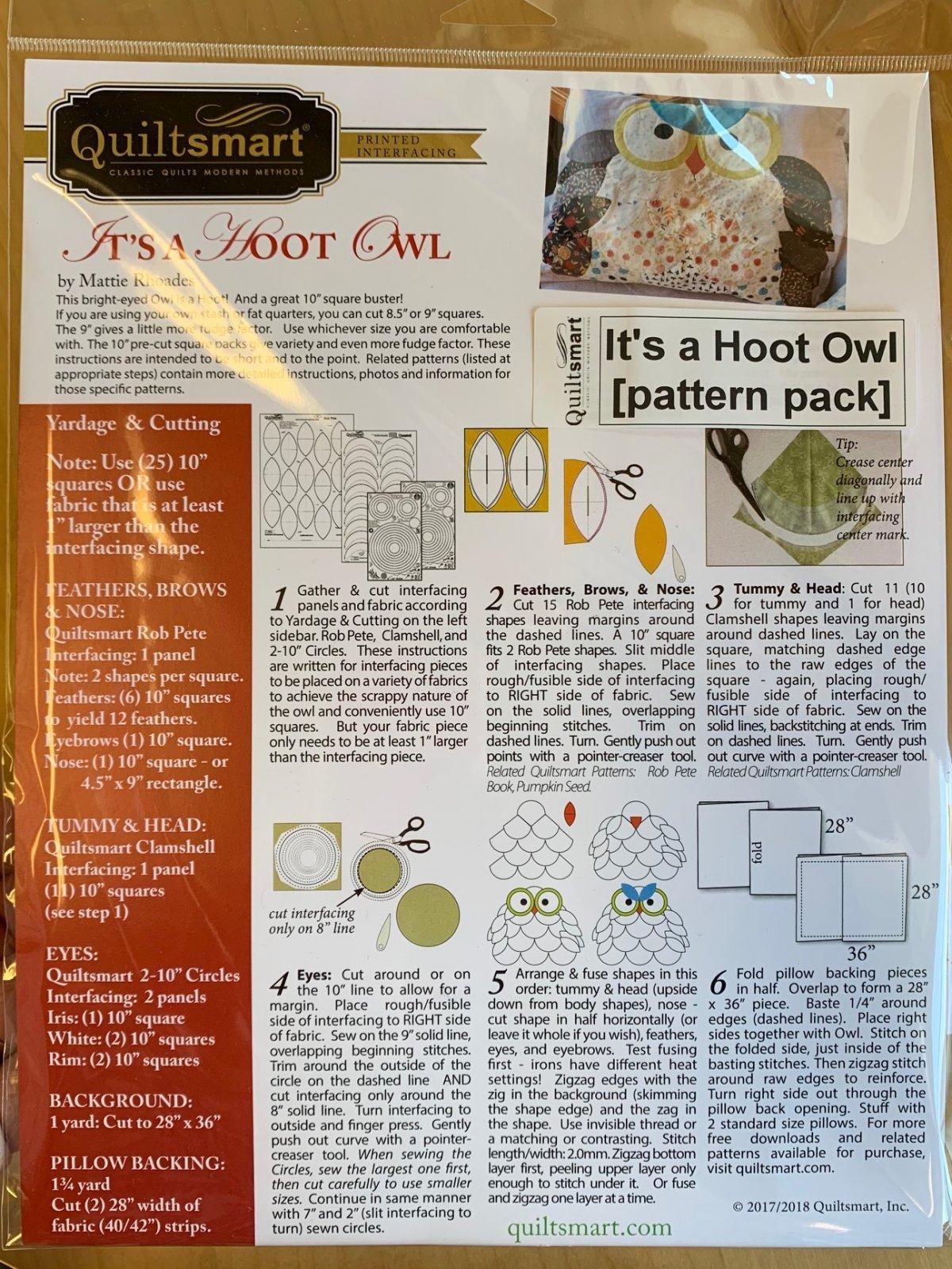 It's a Hoot Owl Pattern Pack