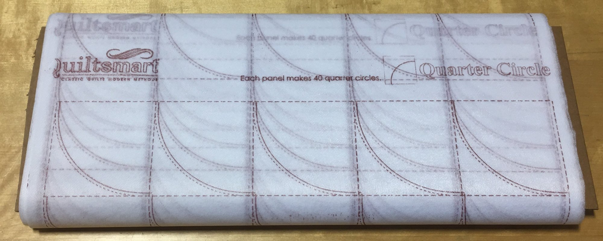 Quarter Circle Interfacing 25-panel Bolt