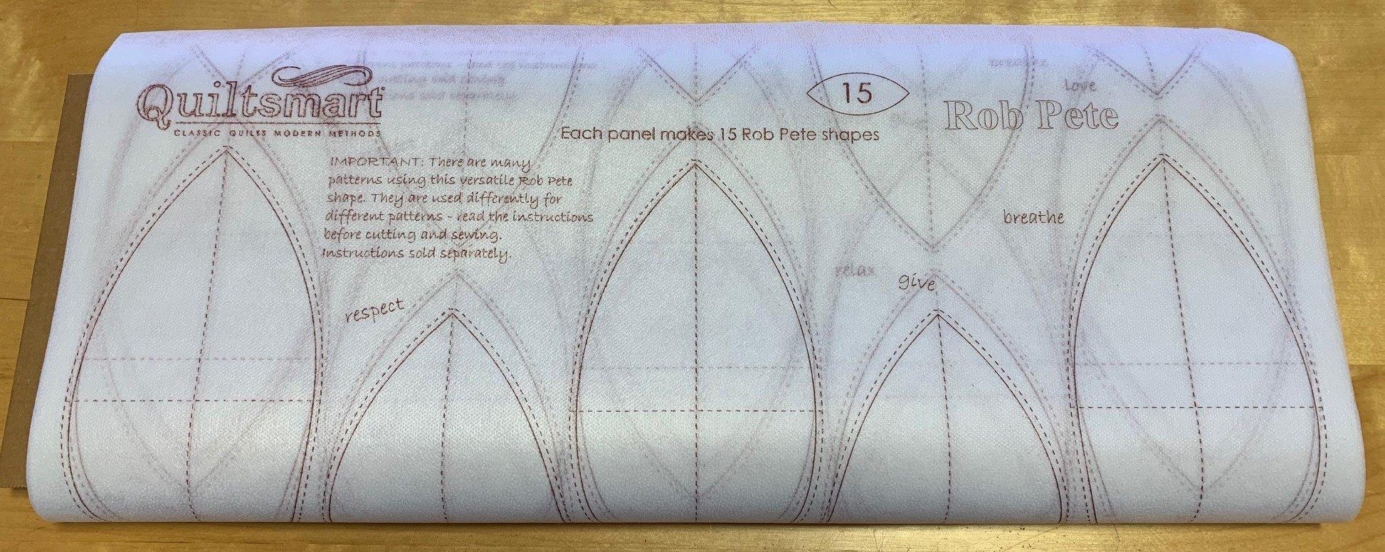 Rob Pete Printed Interfacing 25-panel Bolt