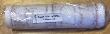 ZigZapps!  Sweet Hearts Roll (25 Panels)
